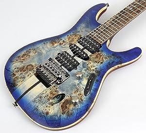 Ibanez Premium S1070PBZ - Cerulean Blue Burst