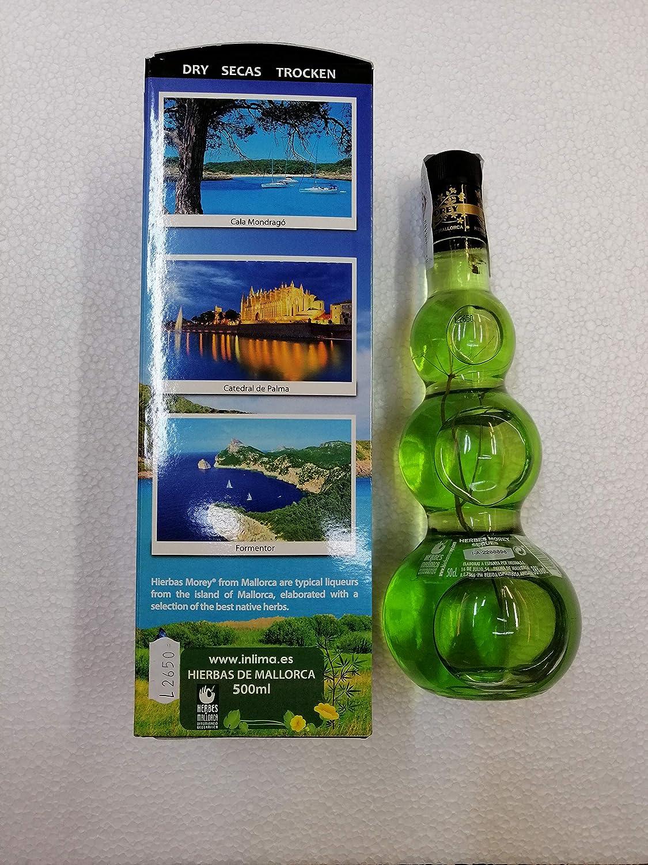 Licor de Hierbas de Mallorca Secas Morey de 50cl con caja 38 ...