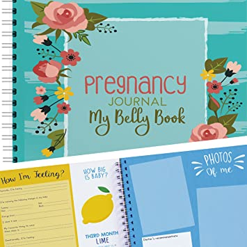 amazon com my belly book pregnancy journal and baby memory book