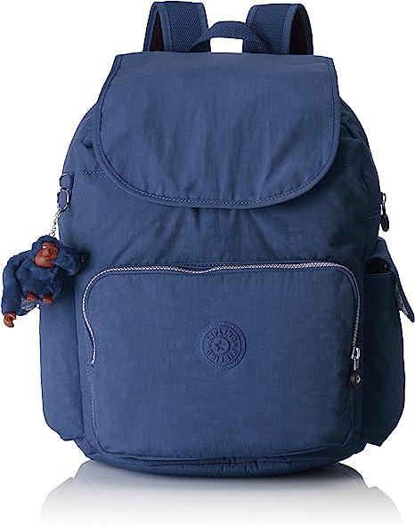 Kipling - CITY PACK L - Mochila grande - Jazzy Blue - (Azul ...