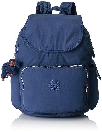 d8127bc65f18e Kipling - CITY PACK L - Large Backpack - Jazzy Blue - (Blue)  Amazon.co.uk   Luggage
