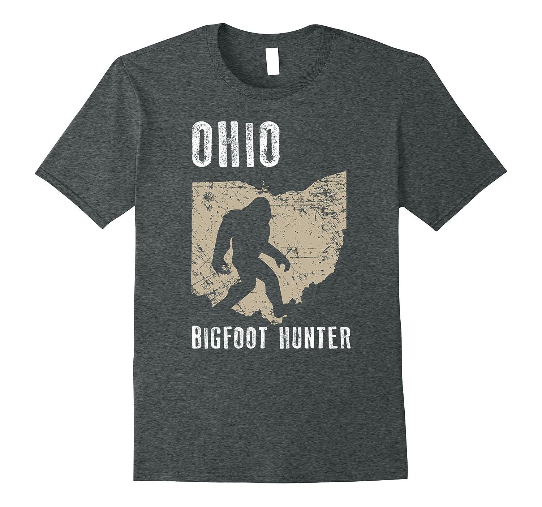 Ohio Bigfoot Hunter Shirt Funny Sasquatch Gift-PL