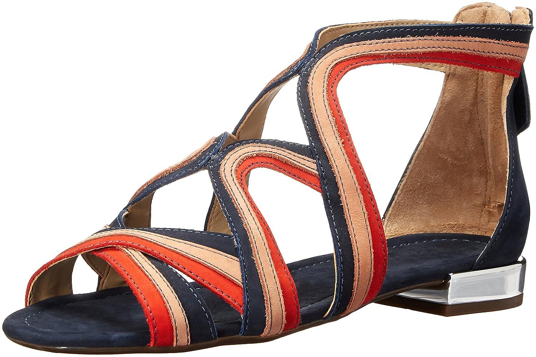 SCHUTZ Women's Bayenne Gladiator Sandal B01M3S0L5F 8.5 B(M) US Sailfish/Toasted/Nice Orange