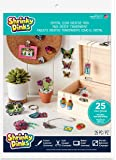Shrinky Dinks Creative Pack 25 Sheets Crystal Clear Kids Art and Craft Activity