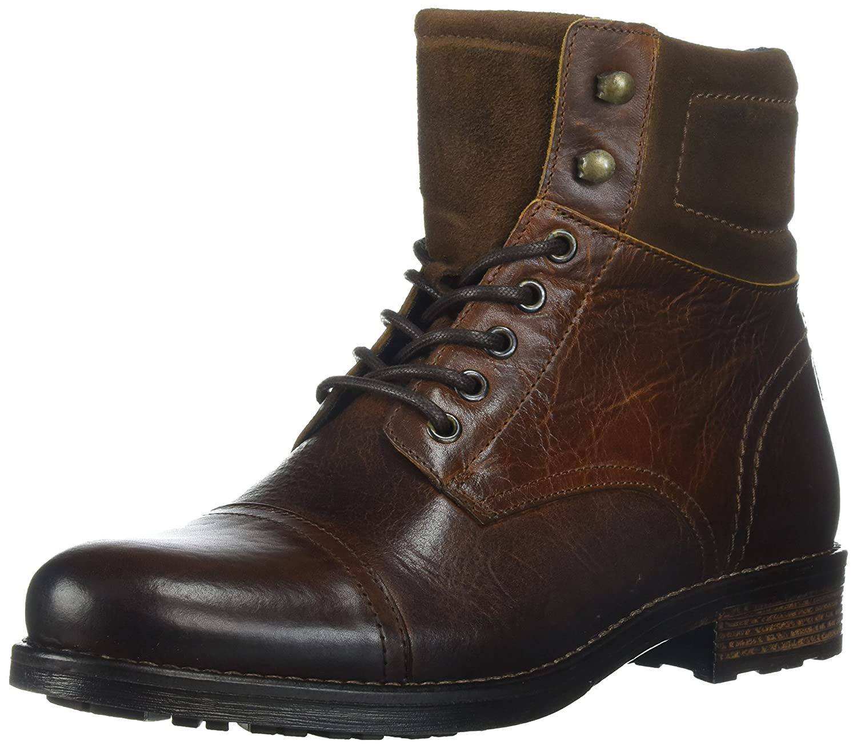 ALDO Men's Senehauz Ankle Bootie B072K3R6FK 13 D(M) US|Cognac