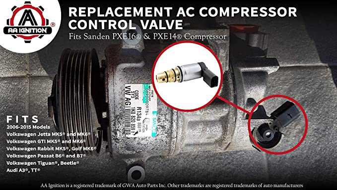 AC Compressor Control Solenoid Valve For Volkswagen Jetta