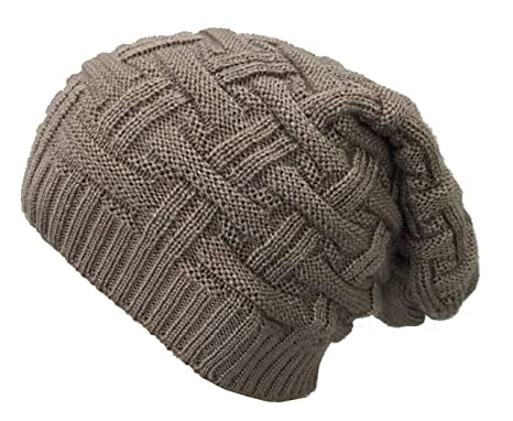 5b84b02c61c Gajraj Knitted Beanie Cap for Men   Women (Brown)  Amazon.in ...