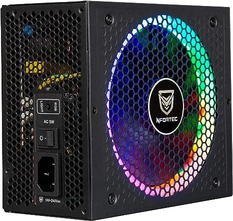 Nfortec Nf Psu Sagitta 750wm Netzteil 750 W Schwarz Computer Zubehör