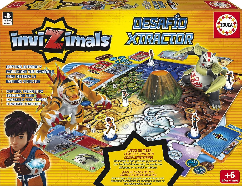 Educa Borrs  Invizimals Desafo XTractor juego de mesa 16145