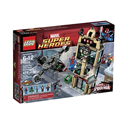 LEGO Super Heroes Daily Bugle Showdown 76005: Toys & Games