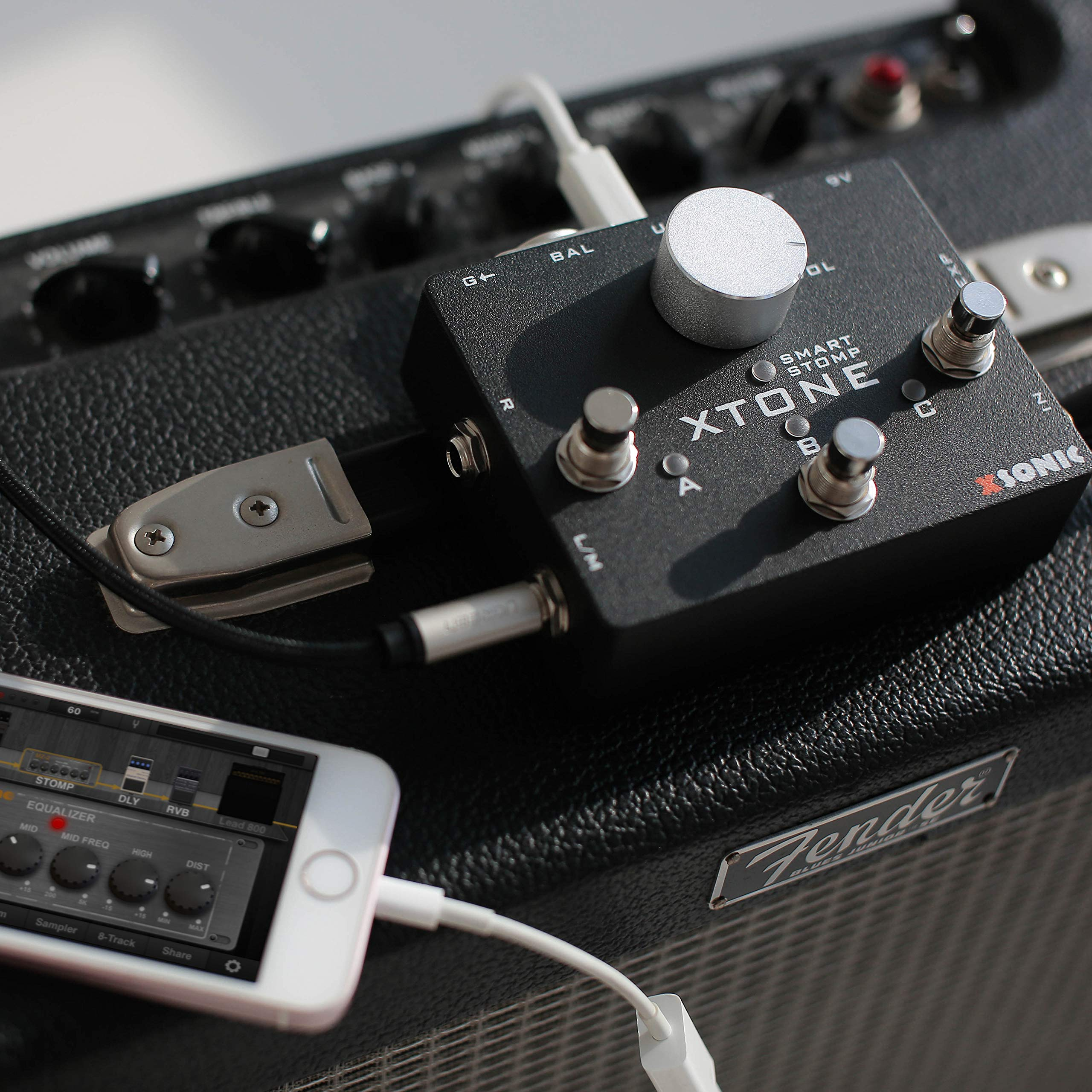 XTONE 192K Mobile Guitar Interface With MIDI Controller & Ultra Low Latency & BIAS & JamUp by XSONIC (Image #7)