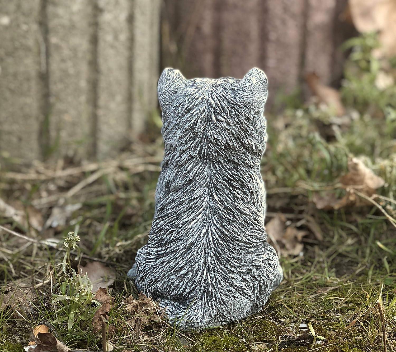 D\'extérieur West Massif Terrier Décoration Highland Statue ...