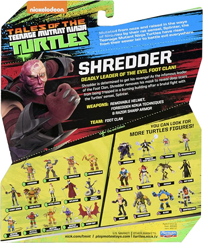Amazon.com: Teenage Mutant Ninja Turtles Brutal Shredder ...