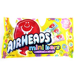 Airheads (1 bag) Easter Airheads Mini Bars Candy - Assorted Flavors - 12 oz / 340 g