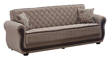 Amazon Com Beyan Newark Collection Large Folding Sofa Sleeper Bed