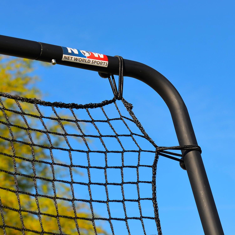 RapidFire Tennis Jumbo Rebounder [9ft x 7ft]   Adjustable Rebound Net – Groundstrokes & Volleying : Sports & Outdoors