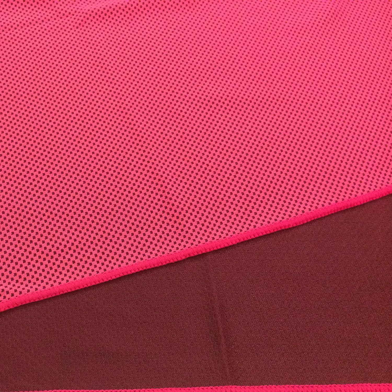 Toalla Enfriadora Evaporadora Refrescante MKcool (rosado, 30*80cm): Usa