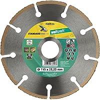Wolfcraft 8369000 Disco de corte amoladora para cortar