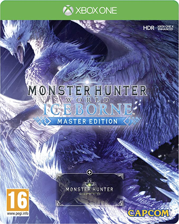 Monster Hunter World Iceborne Master Edition SteelBook - Xbox One ...