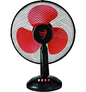 ... Lasko 12 Table Fan; Tkg Desk Top Fan 16 Inch 50 W Black Red ...