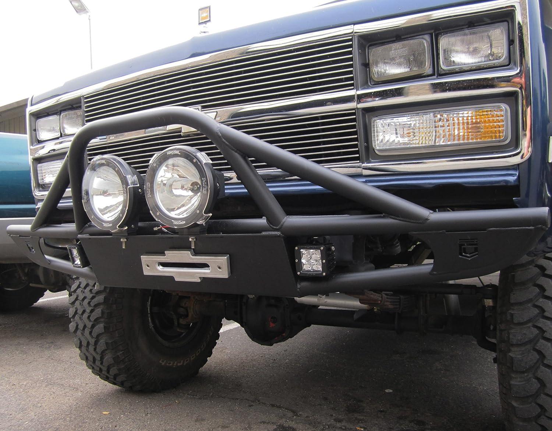 Amazon Com Chassis Unlimited Cu 50700 Front Winch Bumper Fits Chevy Gmc K5 Blazer Trucks Home Improvement