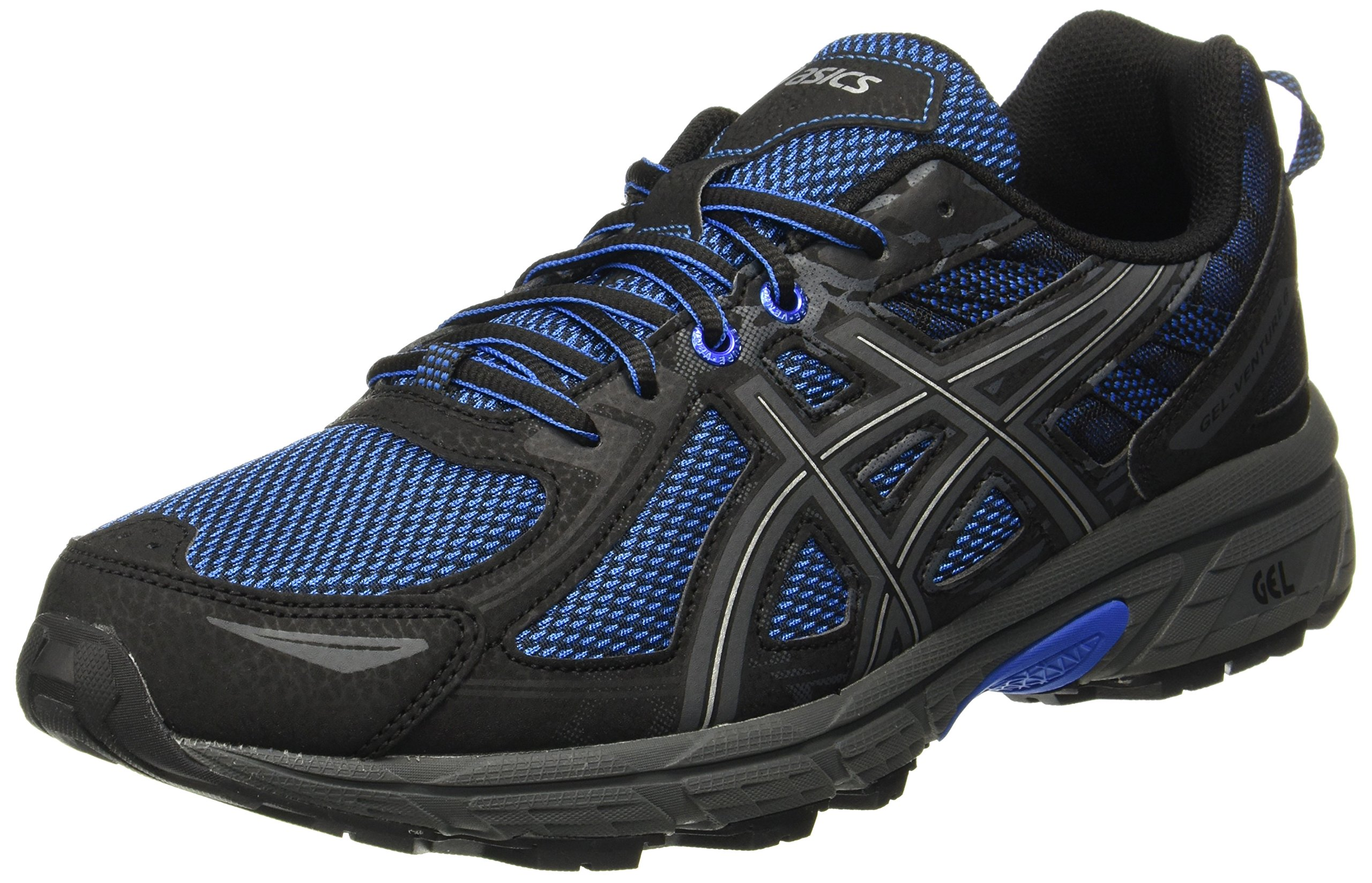 ASICS Gel-Venture 6 Mens Running Trainers T7G1N Sneakers Shoes (UK 9 US 10 EU 44, Victoria Blue Black 4545)