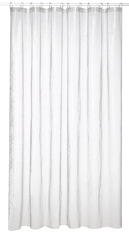 Transparente Sealskin Cortina de Ducha Crystal PVC Pl/ástico 178 x 200 cm