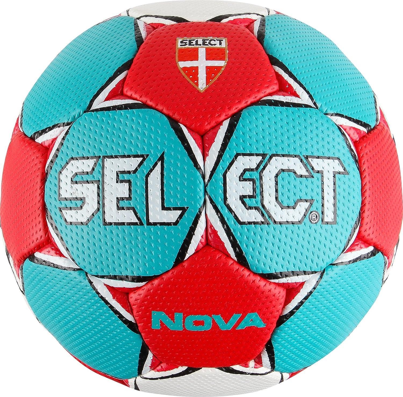 Derbystar Select Nova de Balonmano, Color - türkis-Rot-Weiss, tamaño 3