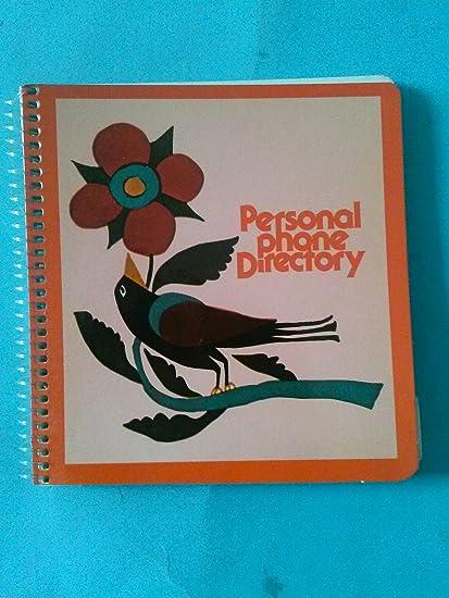 amazon com spindex 1301 personal directory 5 1 2 x 6 bird