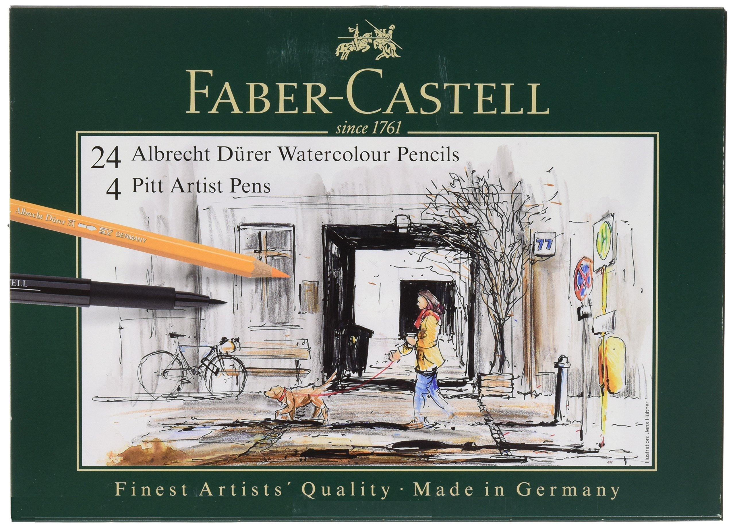 Albrecht Durer 24/Tin And 4 Ct Pitt Gift Set