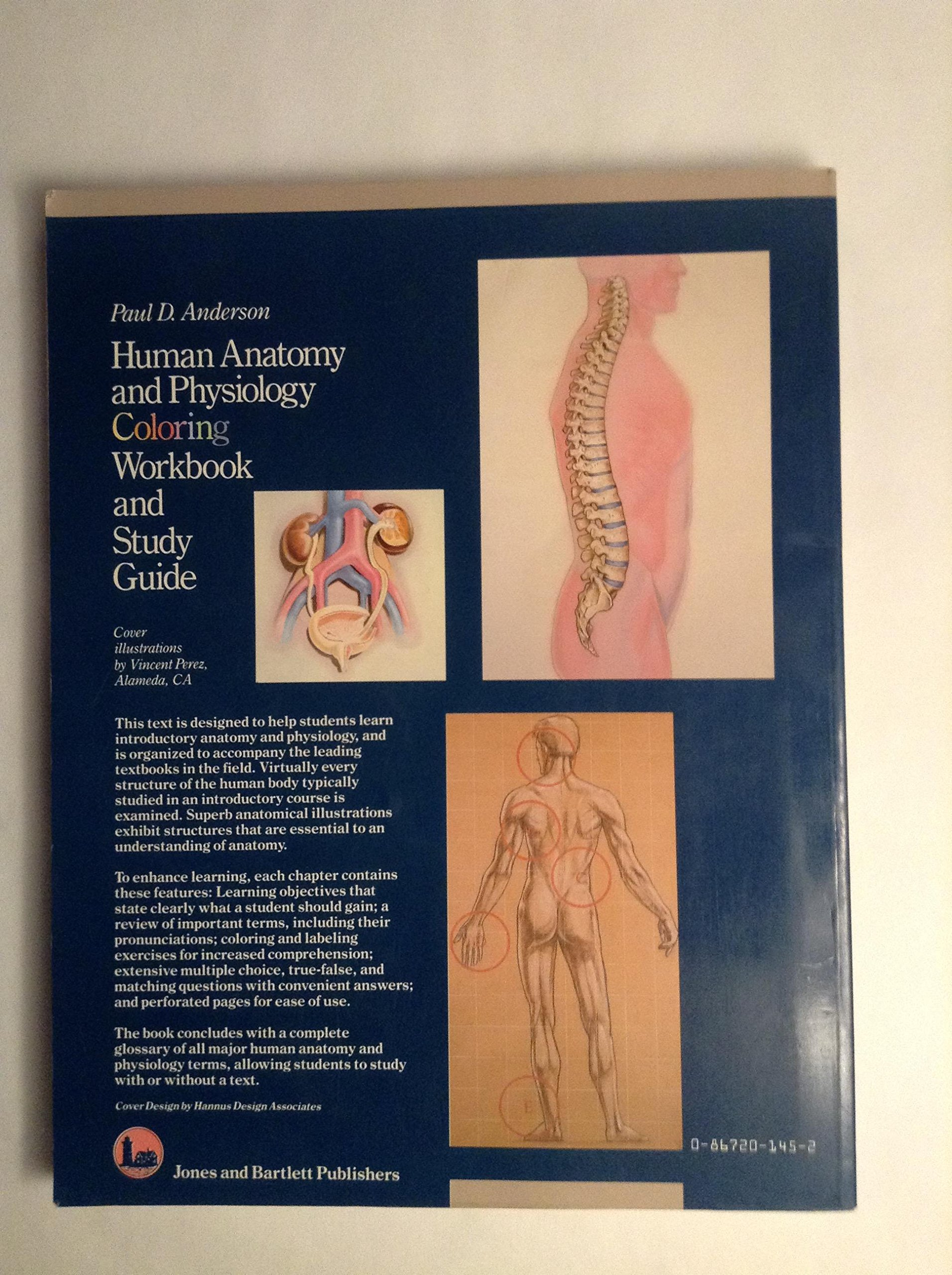 Human Anatomy and Physiology Colouring Workbook: A Study Guide ...
