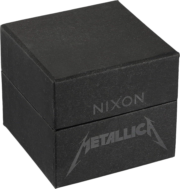 Nixon Mens Sentry Leather Metallica Collection – Seek Destroy
