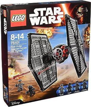 LEGO Star Wars - Pack de 4 minifiguras 2 First Order TIE Fighter ...