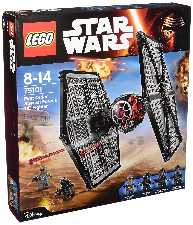 los nuevos estilos calientes LEGO Estrella Wars Wars Wars - Pack de 4 minifiguras 2 First Order TIE Fighter Pilots, First Order Officer, First Order Crew (75101) , Modelos Colors Surtidos, 1 Unidad  punto de venta barato