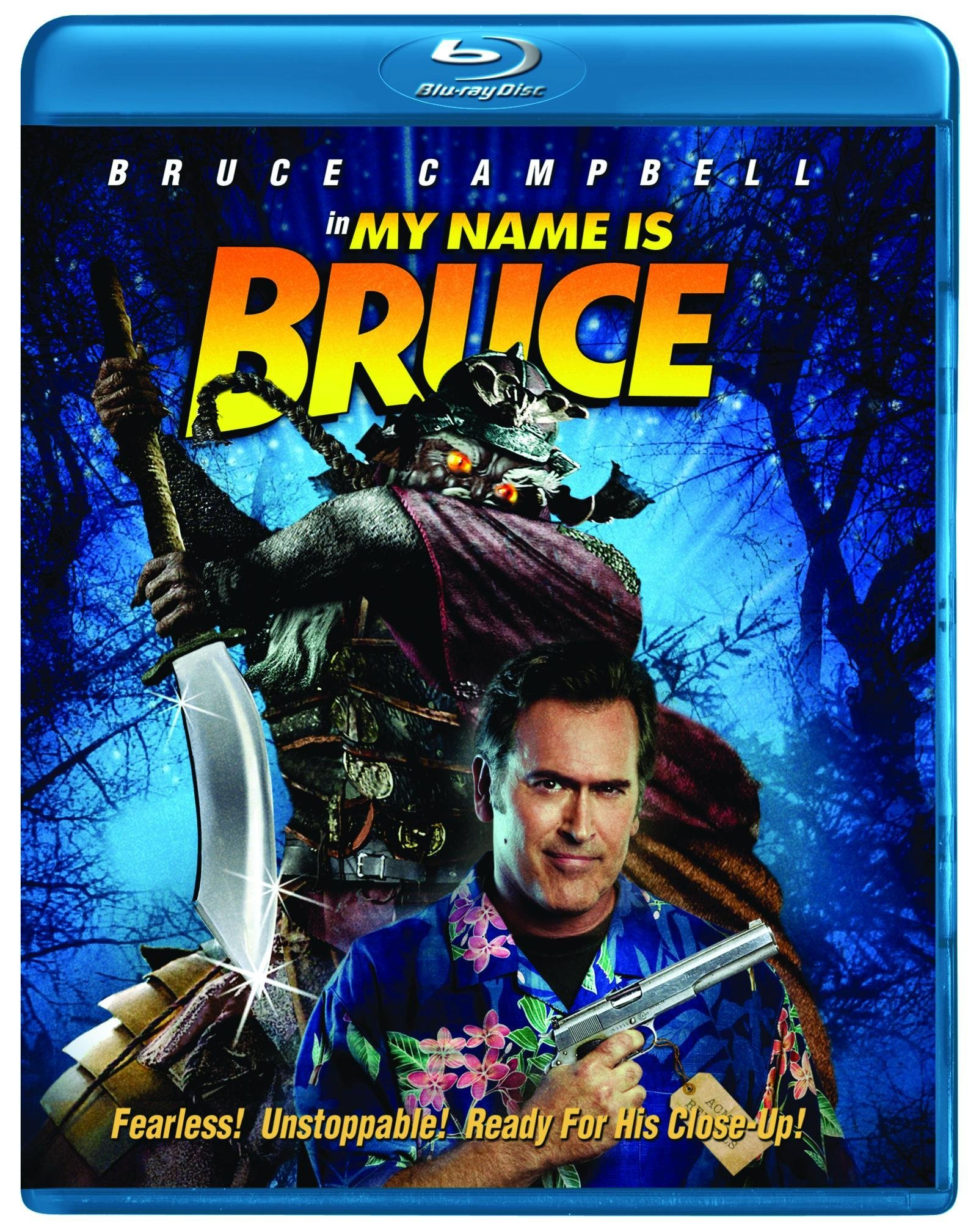 Blu-ray : My Name Is Bruce (Widescreen, Digital Theater System)