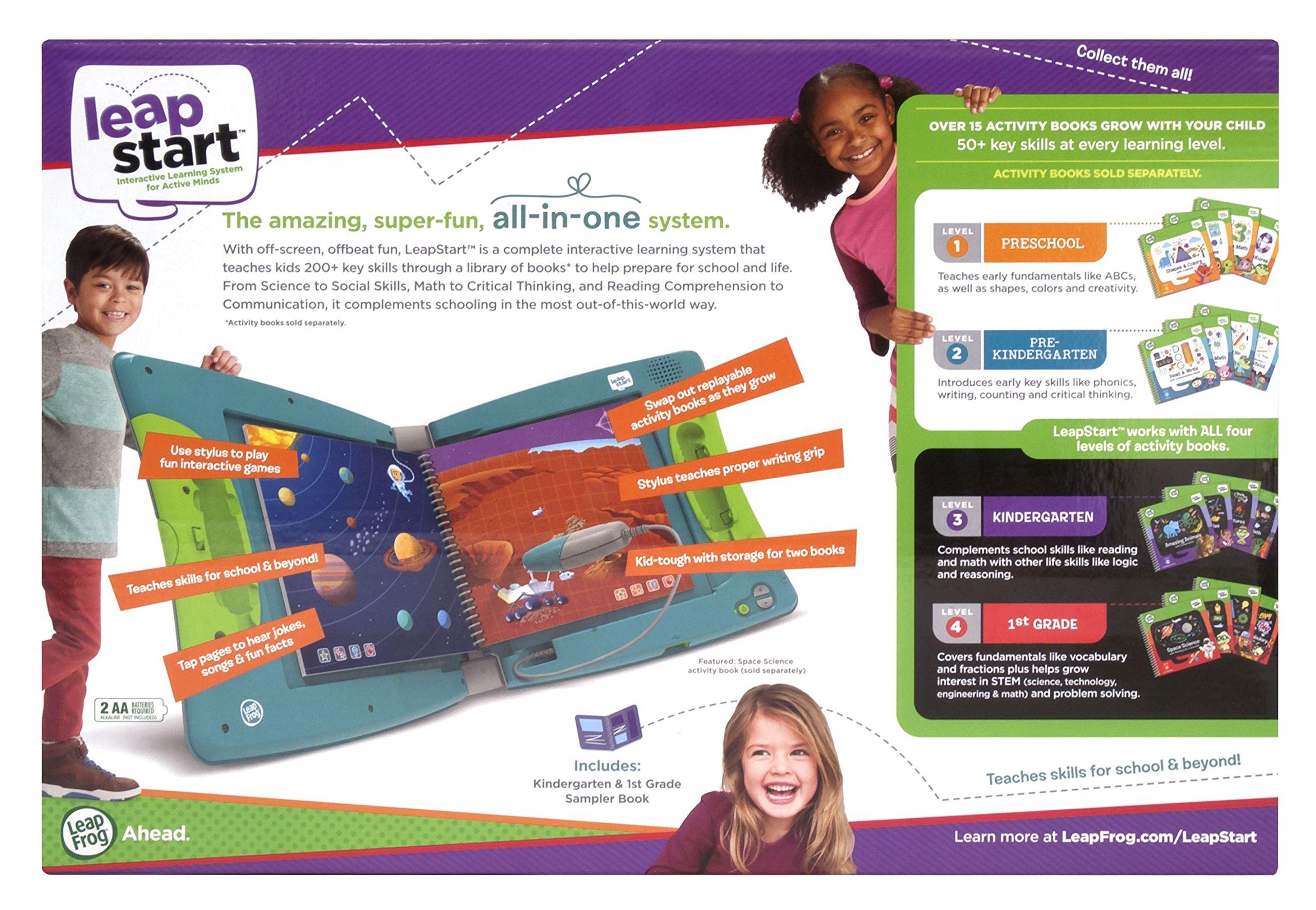 LeapFrog LeapStart Interactive Learning System for Kindergarten & 1st Grade by LeapFrog (Image #12)