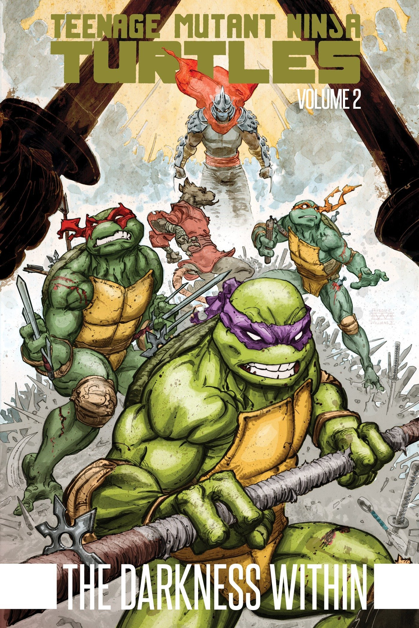 Teenage Mutant Ninja Turtles Volume 2: The Darkness Within ...
