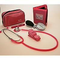 Kit para médicos generalistas rosa que incluye tensiómetro
