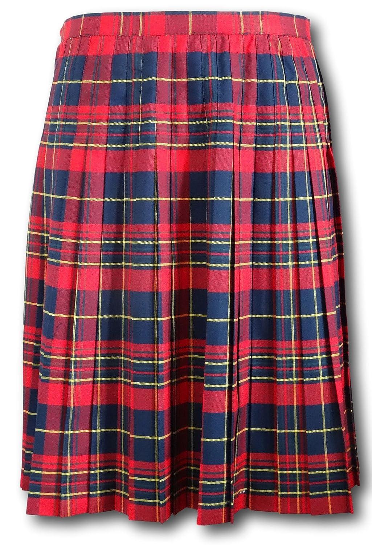 Albert Prendergast Red Tartan Wrap Around Kilt Skirt: Amazon.co.uk: Clothing