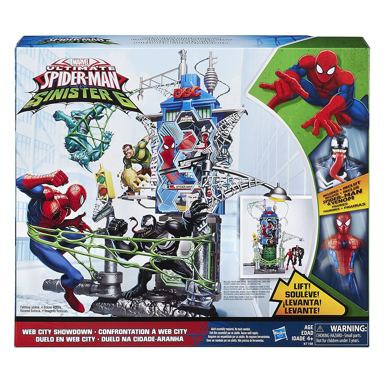 Spider-Man Marvel web City Showdown Juego