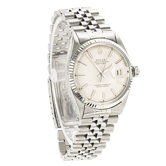 Rolex Datejust Swiss automático Mens Reloj 1601/4 (Certificado) de segunda mano: Rolex: Amazon.es: Relojes