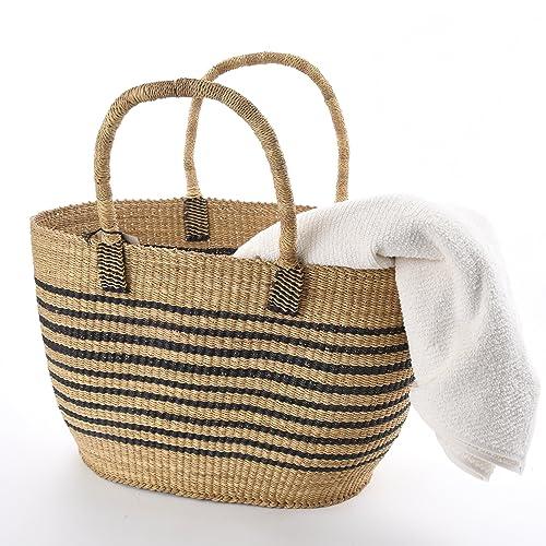 Amazon.com: T nombre africano – bolso bolsa de playa o ...