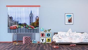 AG Design FCS XL 4312 Rideau Voilage pour Chambre d\'enfant Motif ...