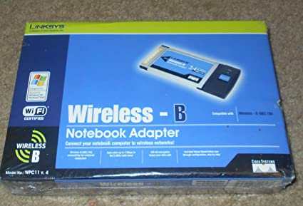 NEW DRIVER: LINKSYS WIRELESS-B WPC11 VER.4