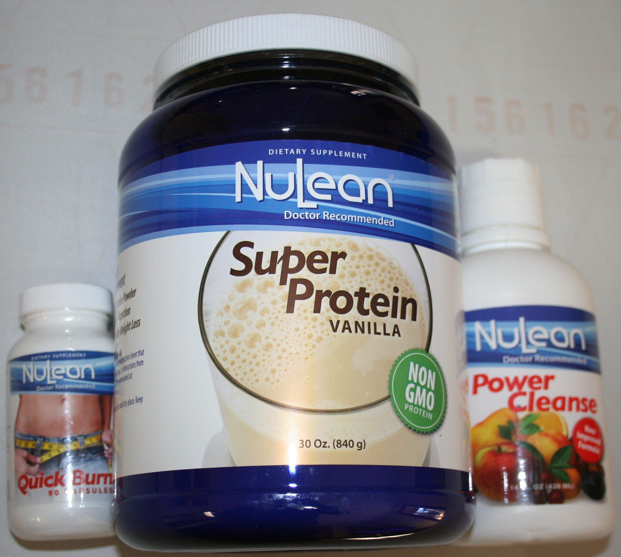 NuLean Phase II Weight Loss Vanilla Kit