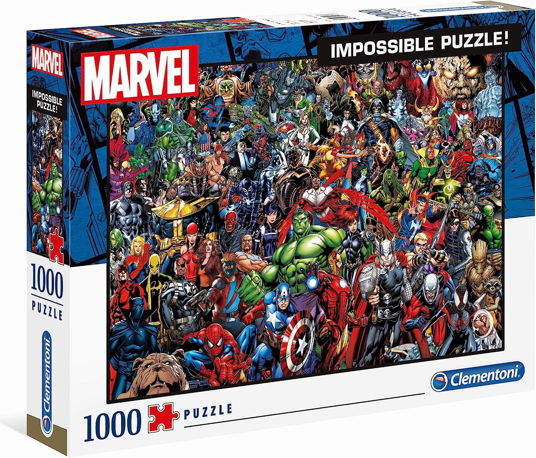 Clementoni Impossible Puzzle Marvel 1000 Pieces 62% OFF £7.50 @ Amazon