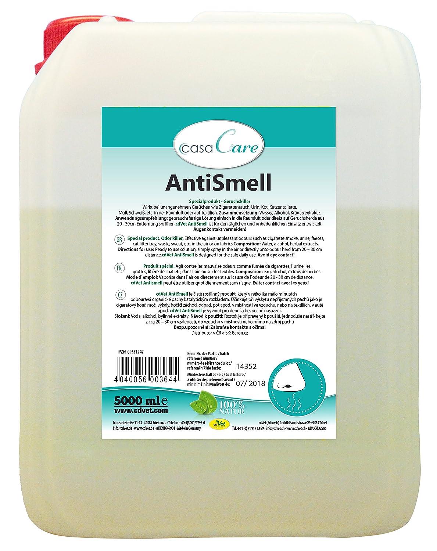 cdVet Naturprodukte casaCare AntiSmell Grosspackung 5 L