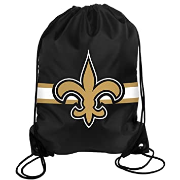 a1fef8f1e95 NFL New Orleans Saints Drawstring Backpack