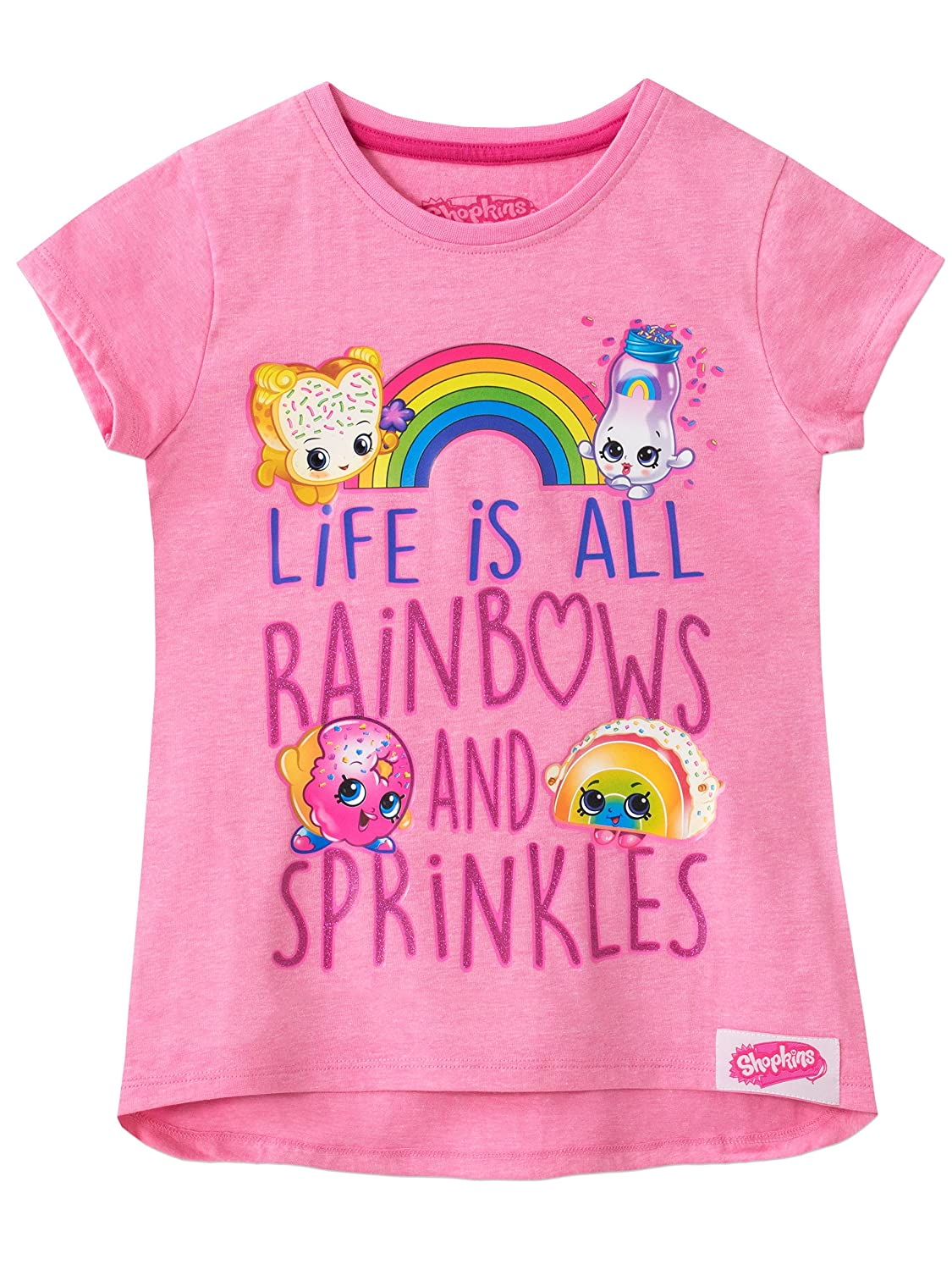Shopkins Girls Shopkins T-Shirt Ages 3 to 13 Years