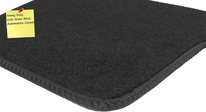 Deluxe 2013- Black with Black Trim Connected Essentials CEM500 Car Mat Set for RX450H
